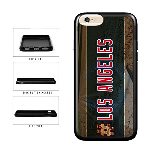 BleuReign(TM) Hashtag Los Angeles #LosAngeles Anaheim Baseball Team TPU RUBBER SILICONE Phone Case Back Cover For Apple iPhone 7 Plus