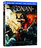 Conan the Barbarian 3D [Blu-ray 3D+ Blu-ray + DVD + Digital Copy]