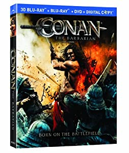 Conan the Barbarian - Conan le barbare [Blu-ray 3D + Blu-ray + DVD] (Bilingual)