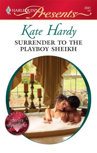 Image for Surrender to the Playboy Sheikh (Harlequin Presents)
