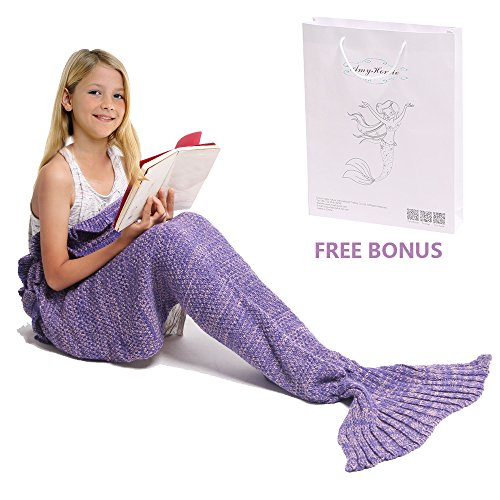 mermaid-tail-blanket-amyhomie-mermaid-crochet-blanket-for-adult-and-kids-all-season-sleeping-bag-kid