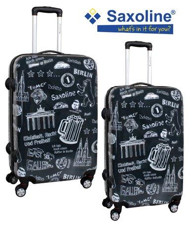 SAXOLINE Trolley-Koffer-Set 2-tlg. 71+61cm -