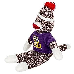 LSU Tigers 11'' Team Sock Monkey