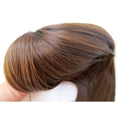 """Liz Wig Long Straight Wrap around Ponytail Wig Hair Piece Extensions 18"""""""