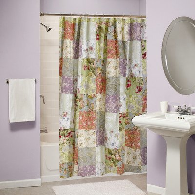 Greenland Home Blooming Prairie Shower Curtain front-312826