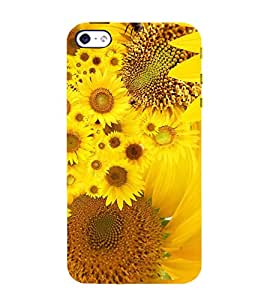 Sunflower 3D Hard Polycarbonate Designer Back Case Cover for Apple iPhone 4 :: Apple iPhone 4S