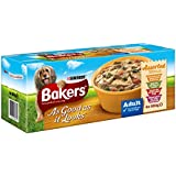 Bakers As Good As It Looks Assorted Menus Dog Food 4 x 280 g (Pack of 4, 16 Tubs in Total)