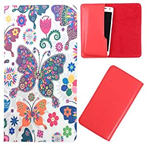 DooDa - For Panasonic T9 PU Leather Designer Fashionable Fancy Case Cover Pouch With Smooth Inner Velvet