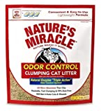 Nature's Miracle Odor Control Clumping Cat Litter 10 Pounds