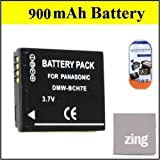 DMW-BCH7 Battery for Panasonic Lumix DMC-FP1 DMC-FP2 DMC-FP3 DMC-FT10 DMC-TS10 Digital Camera + More!!