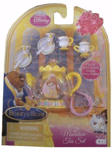 Disney Princess Miniature Tea Set -- Beauty & the Beast, Belle - 1