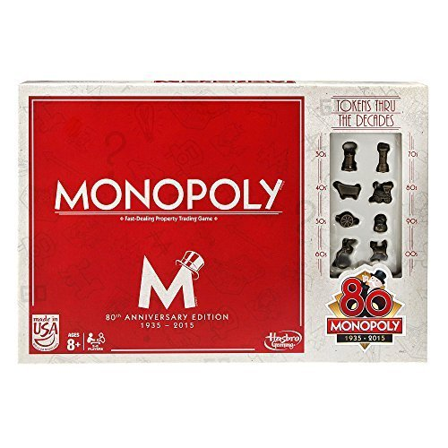 Monopoly Game (80th Anniversary) by Hasbro Gaming jetzt bestellen