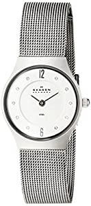 Skagen Super Slim Matte Silver Tone Watch 233Xsss1