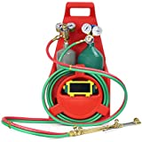 Xtremepowerus Professional Tote Oxygen Acetylene Oxy Welding Cutting Torch Kit Victor W Tank