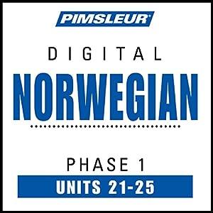 Norwegian Phase 1, Unit 21-25 Audiobook