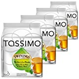Tassimo Twinings Green Tea & Mint, Pack of 4, 4 x 16 T-Discs
