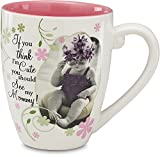 Candidly Lol By Pavilion 4 3/4 Inch Tall Mom Mug, 17 Ounce Capacity