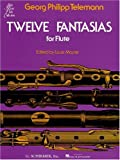 img - for Twelve Fantasias for Solo Flute book / textbook / text book