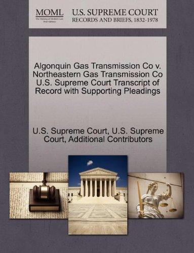 Algonquin Gas Transmission Co 0000003530