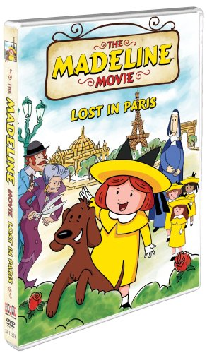 Cover art for  The Madeline Movie: Lost In Paris