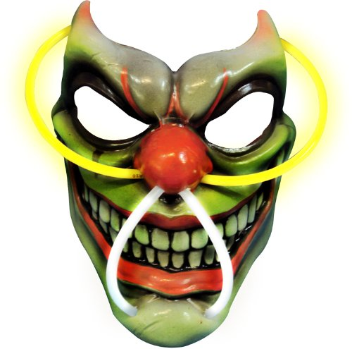 Rubie's Costume Scary Clown Light-Up Mask