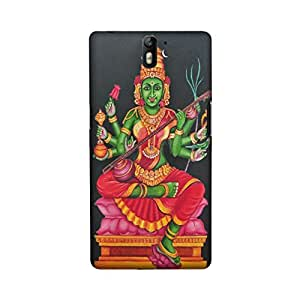 OnePlus One Perfect fit Matte finishing Goddess Religious Mobile Backcover designed by Aaranis(Multicolor)