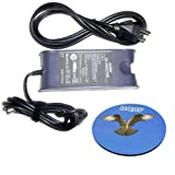 HQRP 65W AC Power Adapter / Battery Charger + Cord for Dell Studio XPS 13 15 16 Laptop / Notebook Replacement plus HQRP Coaster ~ HQRP