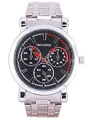 Time Expert Analogue Black Dial Men's Watch - TE100326