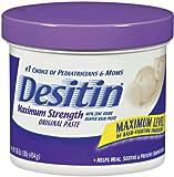 Desitin Maximum Strength Original Paste, 16 Ounce