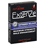 ExtenZe Male Enhancement, Maximum Strength, Extended Release Liquid Gelcaps, 30 ea