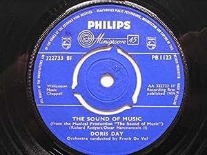 "Day, Doris The Sound Of Music 7"" Philips PB1123 EX 1959"