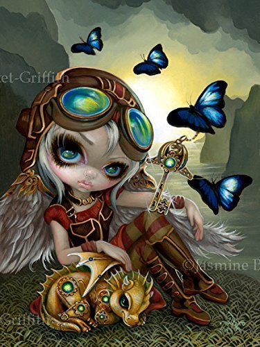 clockwork-dragonling-signed-glossy-photo-art-prints-by-jasmine-becket-griffith