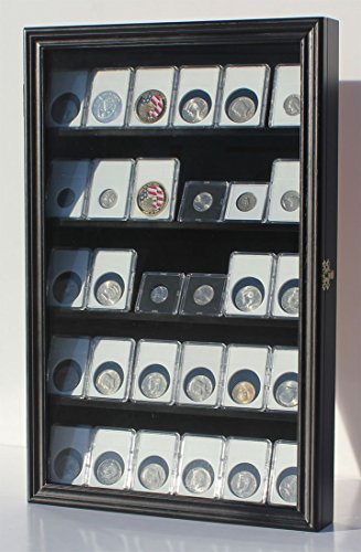 Collector-NGC-PCGS-ICG-Coin-Slab-Display-Case-Cabinet-Holder-Rack
