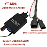 USB-SD-AUX-MP3-Adapter-BMW-E46-E39-E38-E53-Z4-fr-Wechsleranschlsse-mit-Business-Professional-43-CD-Radio