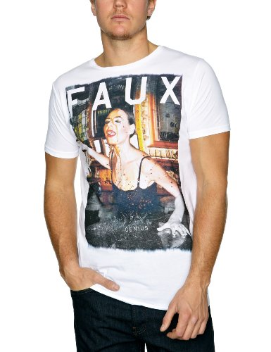 Friend or faux - t-shirt - homme - blanc...