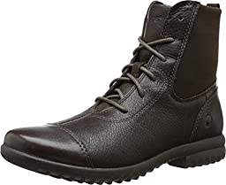 Bogs Women\'s Alexandria Lace Waterproof Leather Boot, Chocolate,8.5 M US