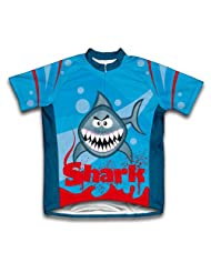 Shark Short Sleeve Cycling Jersey for Women