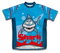 Shark Short Sleeve Cycling Jersey for Women - Size M