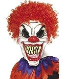 Smiffy's - Furchterregender Clown Maske verschiedene Designs