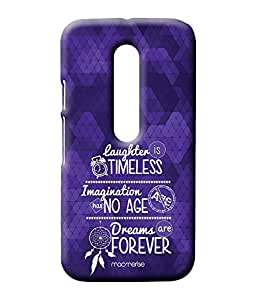 Laughter Imagination Dreams - Sublime Case for Moto G3