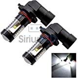 Pair of 9145 9005 Projection Super Bright 30w 6000k White Fog DRL Light New 2014
