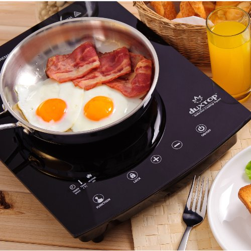 DUXTOP 1800-Watt Portable Sensor Touch Induction Cooktop Countertop Burner 8300ST