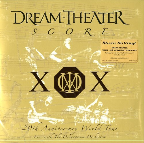 Dream Theater - Score 20th Anniversary World Tour - Zortam Music