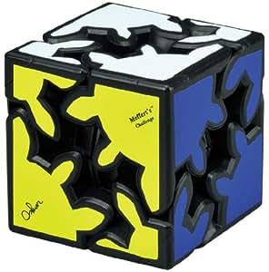 3D ギアキューブ トランスフォーム ブラック