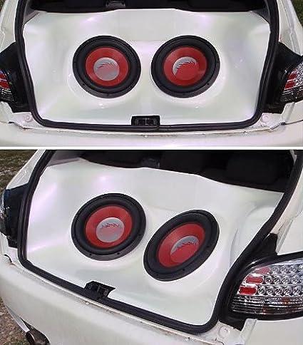 Lester WH505XX caisson de basses Boîtier V2L Peugeot 206