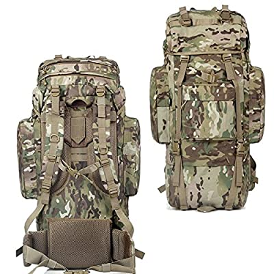 Outdoor Sport Hiking 80L Waterproof Backpack Rucksack Bag Camping Luggage CP