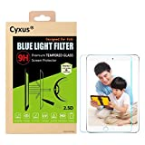 Cyxus(シクサズ) ブルーレイ青色光カット 紫外線輻射防止 9H強化ガラス液晶保護フィルム Apple iPad Air 1/2 9.7インチ用 Cyxus Technology Group Ltd