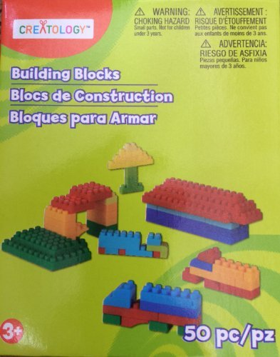 Creatology Building Blocks 50 Pieces