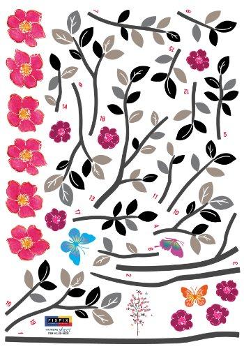Superb Reusable Decoration Wall Sticker Decal Spring Sapling