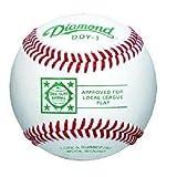 Diamond Dixie Youth Competition Grade Select Wool Blend Winding Baseball, Dozen by Diamond Sports